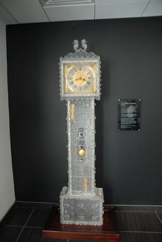 Waterford Crystal Factory, Crystal Grandfather Clock!