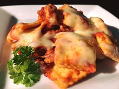 Cheesy Chicken & Chorizo Ravioli |