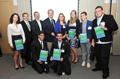 Student Competitions - Students are awarded in the Sweden-Brazil Challenge Without Borders