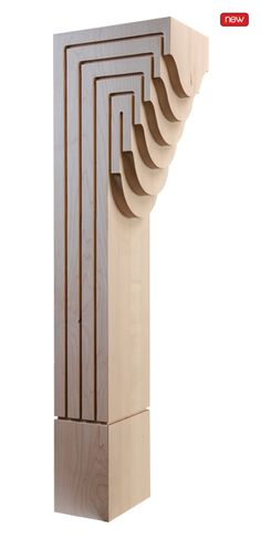 Characterized by clean, contemporary lines and made from the finest North American hardwood, this collection was designed to bring architectural carving detail to even the most modern environment. Drawing inspiration from Art Deco motifs and styling, take note of the subtle detail in the Beveled Arc Series and the curved lines of the Molded Arc Series.