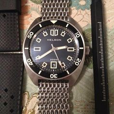 8f156d26c9af Helson Spear Diver (Frame Dial version) Affordable Watches