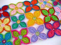 CROCHET FLOWERS PATTERNS - Google Search