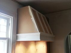 How to build a shaker style range hood