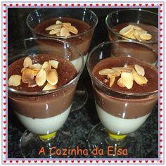 Taças Duo de Chocolate - Sugestão do Dia de S. Valentim