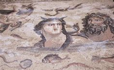 new mosaics have been unearthed as part of the Muzalar House excavations in the ancient city of Zeugma, in Turkey's southern province of Gaziantep [Credit: AA] (via The Archaeology News Network) Ancient Greek City, Ancient Rome, Ancient Art, Ancient History, Ancient Greece, Art Romain, Underwater City, Art Antique, Archaeology News