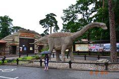 """Odwiedziliśmy reklamowany w internecie (i nie tylko) park dinozaurów, znany pod nazwą """"JURAPARK"""". Warto było przejechać ok. 100km, bo atrakcji było co nie miara. Gorąco polecam wszystkim... Szczególnie dla dzieci jest to kształcąca wycieczka. Po wejściu za bramę (bilet kosztuje to co"""