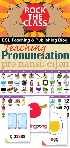 How can you best meet students' needs when it comes to teaching pronunciation?  Here are six (free) activities you can start using in class!