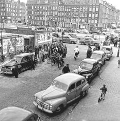 Amsterdam Holland, New Amsterdam, 8 Juni, Asd, Back In The Day, Rotterdam, Old Pictures, Netherlands, Dutch