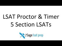 Free LSAT Proctor!!! OMG!! Shit just got real.