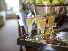 HGTV and P. Allen Smith share a delicious recipe for an Apple Cider Champagne Cocktail.