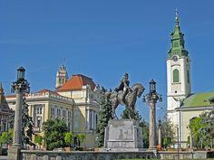 Unirii Square(Piaţa Sf.Ladislau) - Oradea  Szent László tér, Nagyvárad