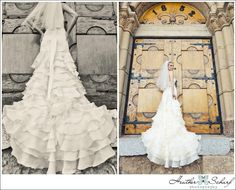 LOVE the Dress!  Waterfall Layers