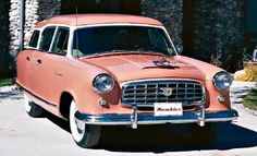1955 Nash Rambler Cross Country Wagon.