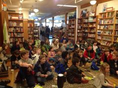 Full audience for Jeff Kinney Diary of a Wimpy Kid: Hard Luck event!