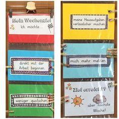 """Gefällt 151 Mal, 6 Kommentare - Lehrerin aus dem Ruhrgebiet (@grundschul_magie) auf Instagram: """"Seit letzter Woche setzen sich die Kinder ein persönliches Wochenziel, an dem sie arbeiten und das…"""""""