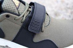 outlet store 7e938 2f6ec Nike SB Trainerendor Olive - black buckle