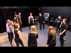 Use this idea for crescendo, diminuendo, accents, staccato, legato, etc.  Theatre Game #5 - Energy Circle. From Drama Menu - drama games & ideas for drama. - YouTube