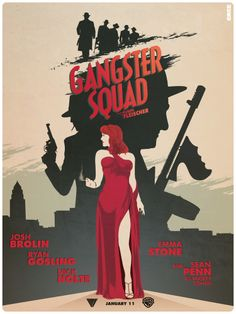 Gangster Squad - movie poster - Matt Ferguson