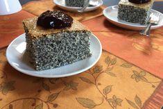 Zseniális Mákos Szelet – Serpenyő Virtuóz Blog Cherry Cake, Sweet Cakes, Pudding, Sweets, Blog, Poppy, Hungary, Gummi Candy, Custard Pudding