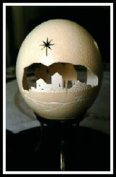 Egg Shell Carving | Eggshell Carving Art - Addicting Games Funny Junk Video Clips