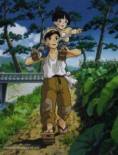 Grave Of The Fireflies (火垂るの墓), Director: Isao Takahata / Studio Ghibli Art, Studio Ghibli Movies, Anime Films, Anime Characters, Totoro, Hotaru No Haka, Cartoon Character Tattoos, Chihiro Y Haku, Grave Of The Fireflies