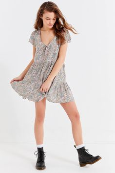 Shop Auguste The Label Frankie Babydoll Mini Dress at Urban Outfitters today. We carry all the latest styles, colors and brands for you to choose from right here.