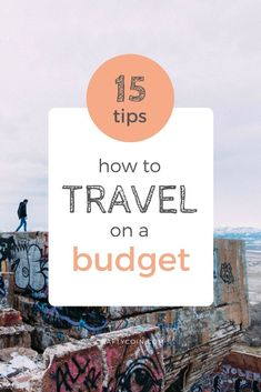Tips for Traveling on a Budget - Crafty Coin Here are some tips for traveling on a budget. You can explore the world without blowing your savings!Here are some tips for traveling on a budget. You can explore the world without blowing your savings! Packing Tips For Travel, Travel Advice, Travel Essentials, Travel Hacks, Travel Ideas, Travel Quotes, Travel Gadgets, Camping Hacks, Travel Guide