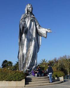 Our Lady of Peace Shrine in San Jose California.  My children loved this!