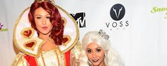 PARTY PHOTOS: Snooki & JWOWW Kick Off Halloween With Drag Queens & 'Alice In Wonderland' Costumes #snooki