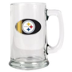 This striking glass tankard is available in 32 NFL teams logo and holds 15 ounces of his favorite beverage. Personalize this gift for your groomsmen.