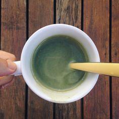 matcha latte Matcha – obsessão do momento | http://comalaemcasa.com.br/2016/02/matcha/