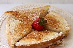 The Farmer's Nest: Grilled Monte Cristo Sandwich {recipe}