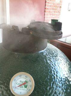 Cold smoking on the Egg