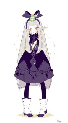magical, anime girl, and magician image Game Character Design, Character Creation, Character Design Inspiration, Character Concept, Character Art, Kawaii, Female Characters, Anime Characters, Anime Witch
