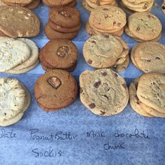 Handmade cookies at the farmer's market in Guildford. Why not follow us on Instagram to see all our posts? We try and give you something beautiful every day! x