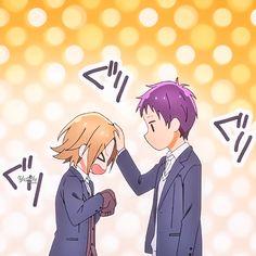 Tooru Ishikawa & Yuki Yoshikawa ; Horimiya l Matching Icons Cute Anime Pics, Cute Anime Couples, Ishikawa, Horimiya, Anime Profile, Manga Pages, Anime Shows, Matching Icons, Anime Characters
