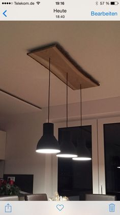 Esstisch-Hängelampe - Lampe ideen Dining table hanging lamp Dining table hanging lamp room# modern # furniture The post dining table hanging lamp appeared first on lamp ideas. Dining Table Lighting, Kitchen Lighting, Home Lighting, Lighting Design, Dining Room Lamps, Dining Tables, Ikea Lamp, Kitchen Lamps, Hanging Lights