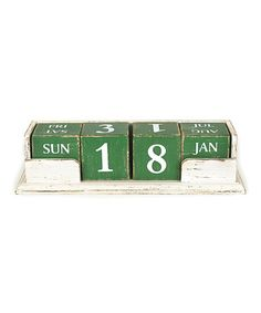 Loving this Perpetual Calendar on #zulily! #zulilyfinds