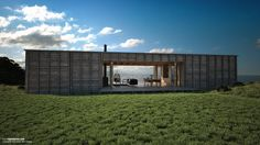 Exterior. Coromandel Bach House. New Zealand   - Cursos y mas en: http://linformatik.es/blog/category/cursos/?lang=es