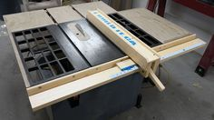 Making a wooden table saw fence system.