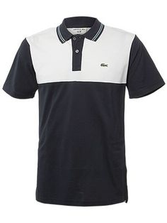 can't go wrong with this, it's timeless Tennis Gear, Tennis Equipment, Golf Wear, Lacoste Men, Summer Looks, Men's Polos, Polo Shirts, Casual Wear, Menswear