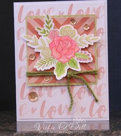 Welcome to our blog hop featuring new products in the Seasonal Expressions 1 Idea Book. You may have just come from  Tamytha Jenkins' ...