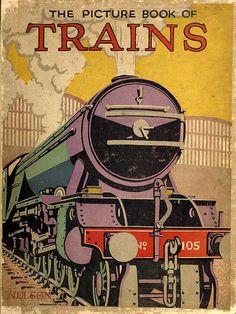 Book of Trains by rosiesnumberoneboy, via Flickr