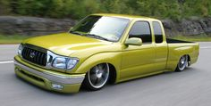 Lowered Hilux
