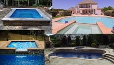 Looking for inspiration for your pool and spa? Check out our gallery for fiberglass pool and hot tub ideas! Inground Pool Designs, Fiberglass Pools, Tub, Swimming Pools, Backyard, Gallery, Check, Outdoor Decor, Inspiration