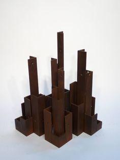 "Saatchi Art Artist Philip Melling; Sculpture, ""City of Angles"" #art"