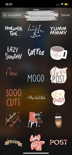 on IG ☼ temas 𝚒𝚐 𝚜𝚝𝚘𝚛𝚢 𝚜𝚝𝚒𝚌𝚔𝚎𝚛𝚜 Instagram Emoji, Iphone Instagram, Creative Instagram Stories, Instagram And Snapchat, Instagram Blog, Instagram Story Ideas, Instagram Quotes, Instagram Editing Apps, Insta Snap