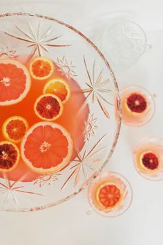Winter Citrus Party