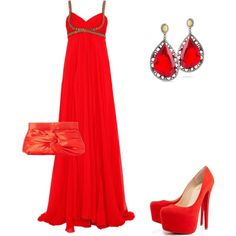 """""""red <3"""" by amalerczyk on Polyvore"""