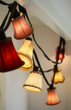 Fundamentally, enhancements to your home should not be done to get a tax break, but to increase its value and make life more pleasing. Vintage Lampshades, Ski Lodge Decor, Concrete Candle Holders, Interior Design Inspiration, Interior Ideas, Light Shades, Home Decor Accessories, Lamp Light, Diy Light